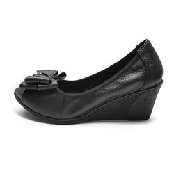 Giày búp bê hở mũi cao 5cm H12