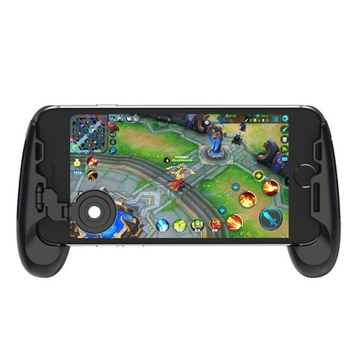 Giá sỉ từ 1 chiếc tay cầm chơi game có nút hỗ trợ di chuyển cho điện thoại tặng kèm stick phụ và khăn lau