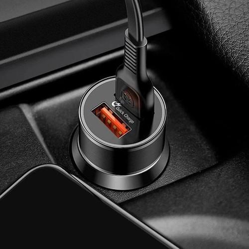 Tẩu sạc nhanh baseus qc3.0 cho ô tô xe hơi