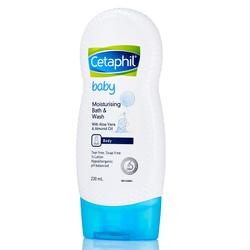 Sữa Tắm Dưỡng Ẩm Cho Bé Cetaphil Baby Moisturising Bath Wash 230ml