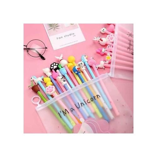 Set 20 bút bi nước trộn màu aihao siêu kute