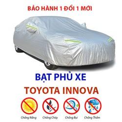 Bạt phủ xe ô tô Toyota Innova - bạt trùm xe hơi 7 chỗ chống mưa nắng