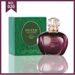Nước hoa, nước hoa nữ, nước hoa Brand no.020 thương hiệu nổi tiếng