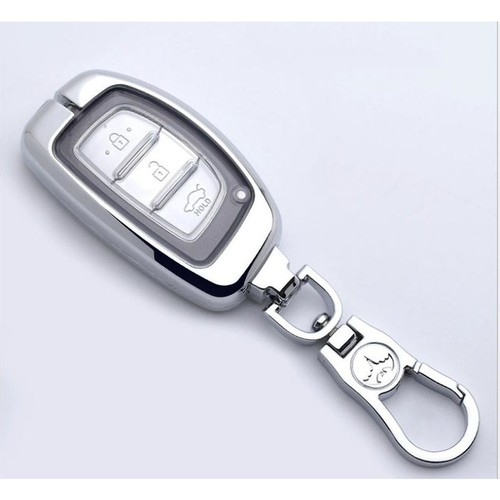 [Hcm]Ốp vỏ chìa khóa inox theo xe hyundai elantra, i10, tucson m02