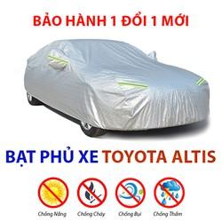 Bạt phủ xe ô tô Toyota Corolla Altis - bạt trùm xe hơi 4-5 chỗ chống mưa nắng