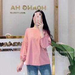 Áo phông nữ dài tay- Mẫu mới nhất 2019