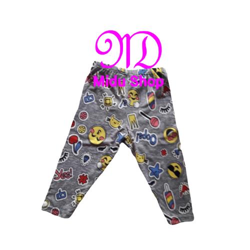 Combo 3 quần legging cho bé gái 8kg-45kg - quần dài ôm cho bé gái [midu shop]. màu ngẫu nhiên.
