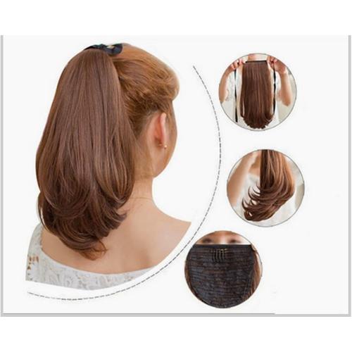 [Tóc giả]-tóc cột xoăn cúp đuôi-tóc giả nữ- tóc đuôi ngựa- tóc xoăn đuôi- tóc xoăn dài