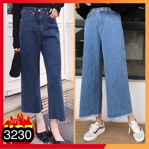 Quần baggy jeans nữ dạo phố
