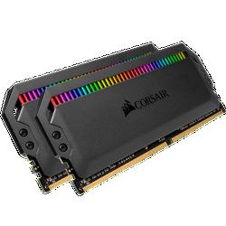 RAM Corsair Dominator Platinum RGB 32GB 2x16GB Bus 3200 C16 - CMT32GX4M2C3200C16CMT32GX4M2C3200C16