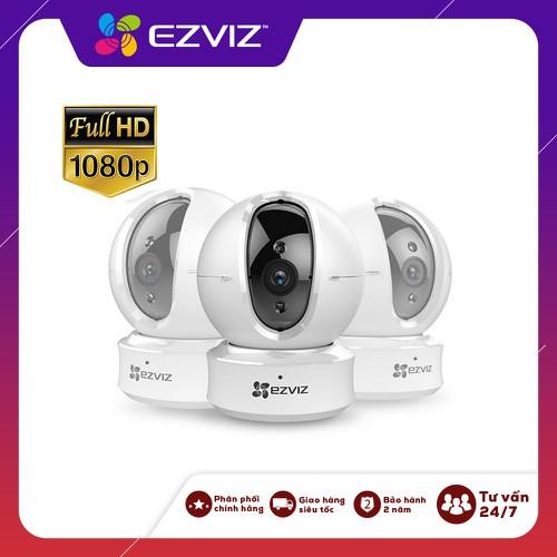 Camera ip ezviz c6n 1080p, phiên bản nâng cấp c6cn thiết kế nhỏ gọn xoay 360