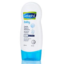 Cetaphil Sữa Tắm Gội Toàn Thân Cho Bé Baby Gentle Wash And Shampoo 230ml