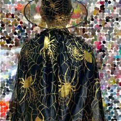 Áo Choàng và nón phù thuỷ trang phục Halloween 120cm