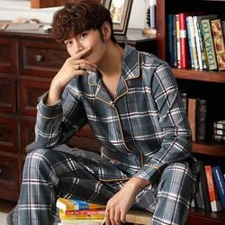 Bộ Pijama Nam Dài Tay, Bộ Mặc Nhà Nam