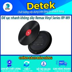 Đế sạc không dây Remax Vinyl Series RP-W9 Max 10W - RP-W9