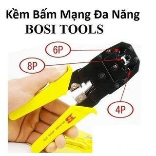 Kềm bấm đầu mạng Bosi - AT KIM BOSI thumbnail
