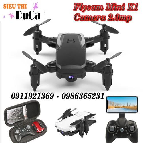 Flycam mini k1 wifi camera 720p mới