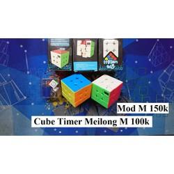 Rubik 3x3x3. Cube Timer Meilong Mod M