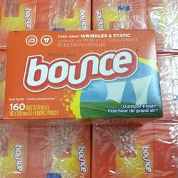 Giấy Thơm Bounce hộp 160 Tờ Của Mỹ