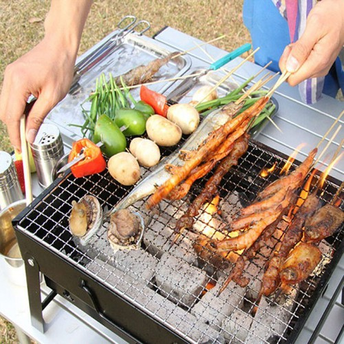 Bếp nướng thịt bbq - bộ nướng tiện lợi - bếp vỉ nướng thịt than hoa vuông cap cấp - 17093830 , 22896866 , 15_22896866 , 199000 , Bep-nuong-thit-bbq-bo-nuong-tien-loi-bep-vi-nuong-thit-than-hoa-vuong-cap-cap-15_22896866 , sendo.vn , Bếp nướng thịt bbq - bộ nướng tiện lợi - bếp vỉ nướng thịt than hoa vuông cap cấp
