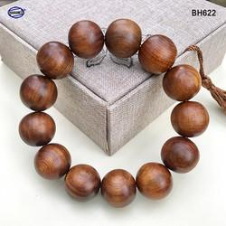 Vòng tay gỗ Bách Xanh cổ thụ thơm ngọt - vân gỗ đẹp - Mang lại tài lộc bình an