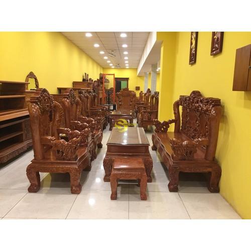 Bộ bàn ghế gỗ hương đá chạm tứ linh 6 món tay 12 - 20262611 , 22908189 , 15_22908189 , 53900000 , Bo-ban-ghe-go-huong-da-cham-tu-linh-6-mon-tay-12-15_22908189 , sendo.vn , Bộ bàn ghế gỗ hương đá chạm tứ linh 6 món tay 12