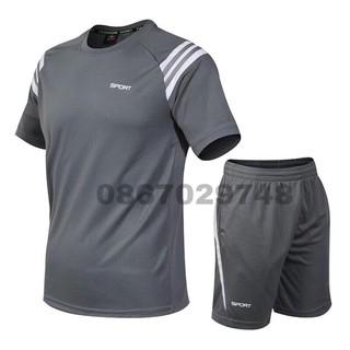 Bộ quần áo thể thao nam,bộ tập gym nam hot - SET TT RAP LĂNG thumbnail