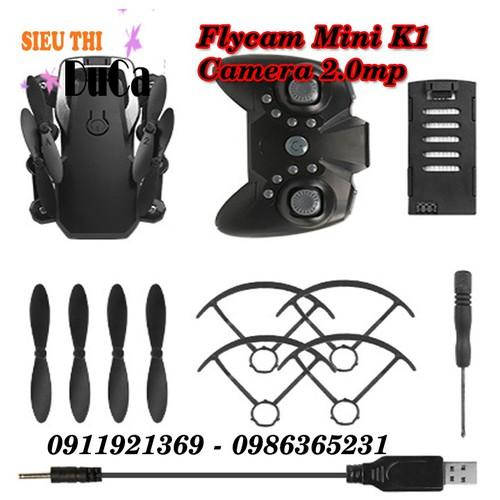 Flycam mini k1 wifi camera 720p