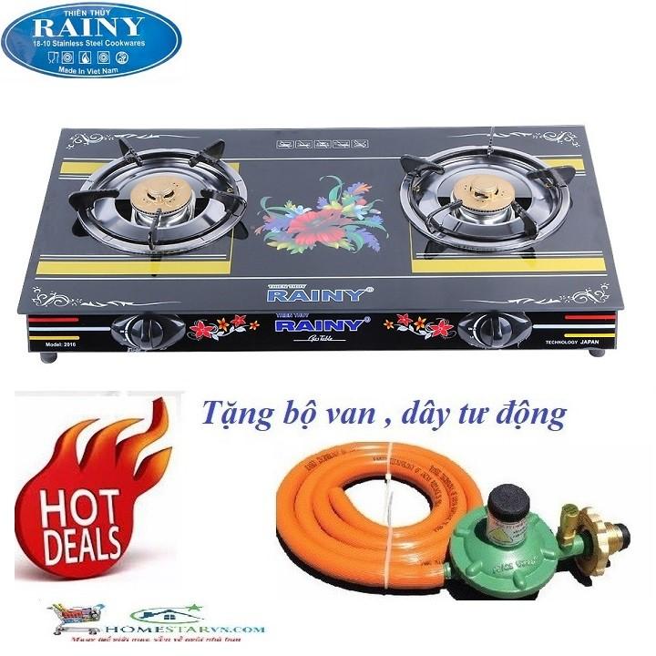 Bếp Gas Hồng Ngoại Rainy RN1601TT
