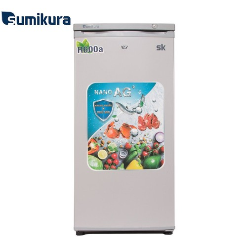 Tủ đông đứng cửa trước sumikura 102 lít skfu-102