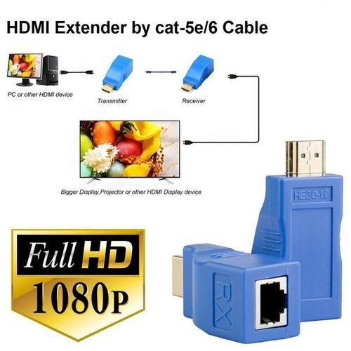 Bộ kéo dài tín hiệu hdmi 30m qua cáp mạng cat5e cat6 chuẩn rj45 . - 20258303 , 22900064 , 15_22900064 , 605000 , Bo-keo-dai-tin-hieu-hdmi-30m-qua-cap-mang-cat5e-cat6-chuan-rj45-.-15_22900064 , sendo.vn , Bộ kéo dài tín hiệu hdmi 30m qua cáp mạng cat5e cat6 chuẩn rj45 .