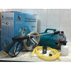Máy rửa xe có chỉnh áp SUMO moter đồng công suất 2300W thích hợp rửa xe gia đình, vệ sinh máy lạnh