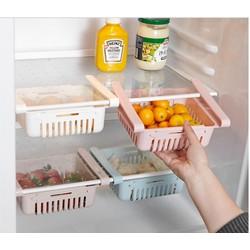 Khay Rổ Nhựa Kéo Dài Đựng Thức Ăn Thực Phẩm Trong Tủ Lạnh Thông Minh Tiện Dụng