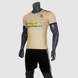 Quần áo bóng đá MU Vàng Đồng