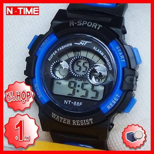 Đồng hồ trẻ em bé trai nt 88f xanh y7 in 1