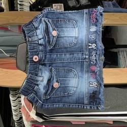 Chân váy jeans bé gái