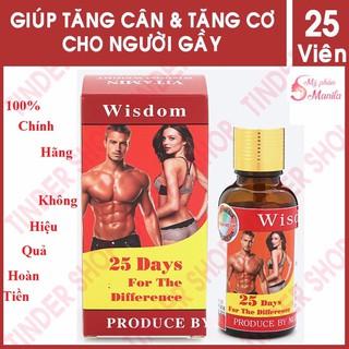 Vitamin tăng cân wisdom - tăng cân wisdom - Hàng chính hãng - Tang Can Hieu Qua thumbnail