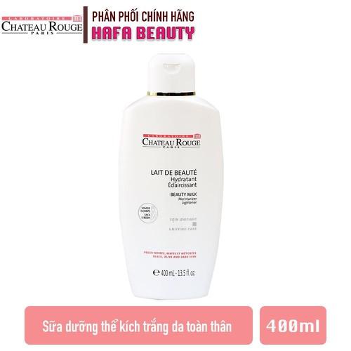 Sữa dưỡng kích trắng da toàn thân chateau rouge lait de beaute soin unifiant 400ml - 20251769 , 22889959 , 15_22889959 , 520000 , Sua-duong-kich-trang-da-toan-than-chateau-rouge-lait-de-beaute-soin-unifiant-400ml-15_22889959 , sendo.vn , Sữa dưỡng kích trắng da toàn thân chateau rouge lait de beaute soin unifiant 400ml