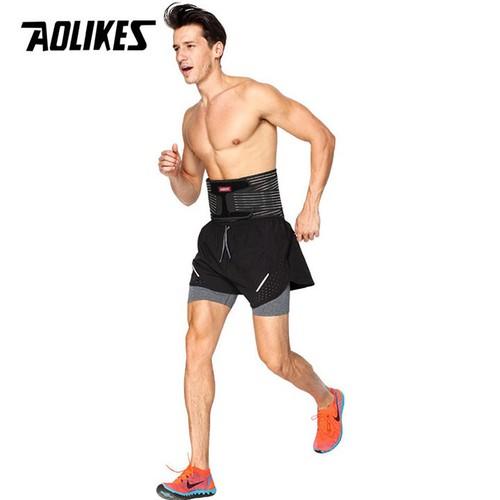 Đai lưng tập gym có nẹp thép cao cấp aolikes sdal7996  - đai bảo vệ bảo vệ lưng tập gym- đai bảo vệ bảo vệ thắt lưng cột sống - đai bảo vệ bảo vệ lưng -  đai bảo vệ bảo vệ thắt lưng