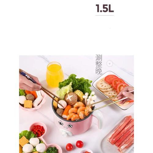 Dgd nồi điện mini đa năng siêu tốc nấu mỳ nấu lẩu hầm canh xào nấu 1 5l tiện lợi đồ dùng nhà bếp j deal tốt - 20256338 , 22897278 , 15_22897278 , 405000 , Dgd-noi-dien-mini-da-nang-sieu-toc-nau-my-nau-lau-ham-canh-xao-nau-1-5l-tien-loi-do-dung-nha-bep-j-deal-tot-15_22897278 , sendo.vn , Dgd nồi điện mini đa năng siêu tốc nấu mỳ nấu lẩu hầm canh xào nấu 1 5l