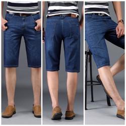 [ĐƯỢC KIỂM HÀNG] Quần shorts jean nam trơn co giãn cao cấp hàng công ty size 27-34