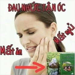nước súc miệng THANH MỘC H hết sâu răng hôi miệng