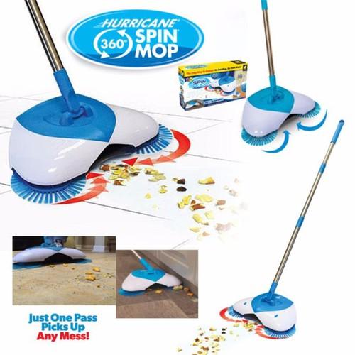 Chổi quét hút rác con cua spin broom- bảo hành  7 ngày