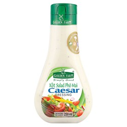 Sốt Salad Caesar Golden Farm 250ml