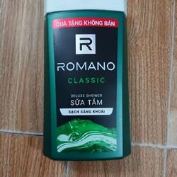 Sữa Tắm Romano Hàng Tặng 150gr