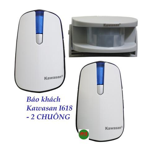 Bộ chuông cảm biến hồng ngoại - 2 chuông báo khách báo báo trộm không dây kawasan i618 - 20287619 , 22952667 , 15_22952667 , 489000 , Bo-chuong-cam-bien-hong-ngoai-2-chuong-bao-khach-bao-bao-trom-khong-day-kawasan-i618-15_22952667 , sendo.vn , Bộ chuông cảm biến hồng ngoại - 2 chuông báo khách báo báo trộm không dây kawasan i618