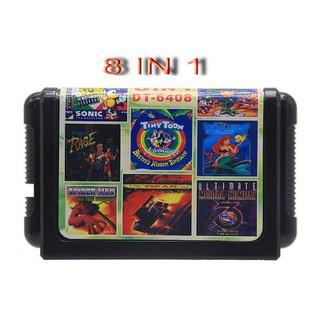 Băng game 8 in 1 trò chơi cho máy SEGA 16 bit - 8in thumbnail