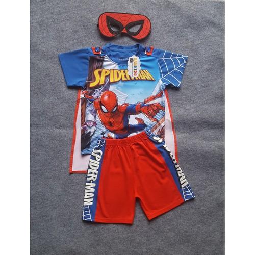 Bộ đồ siêu nhân người nhện spider man kèm áo choàng và mặt nạ hgd0279 - 20277702 , 22935222 , 15_22935222 , 185000 , Bo-do-sieu-nhan-nguoi-nhen-spider-man-kem-ao-choang-va-mat-na-hgd0279-15_22935222 , sendo.vn , Bộ đồ siêu nhân người nhện spider man kèm áo choàng và mặt nạ hgd0279