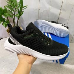 Giày Sneaker Nam Màu Đen Thời Trang Đế Cực Nhẹ Êm [ Tặng Box ]