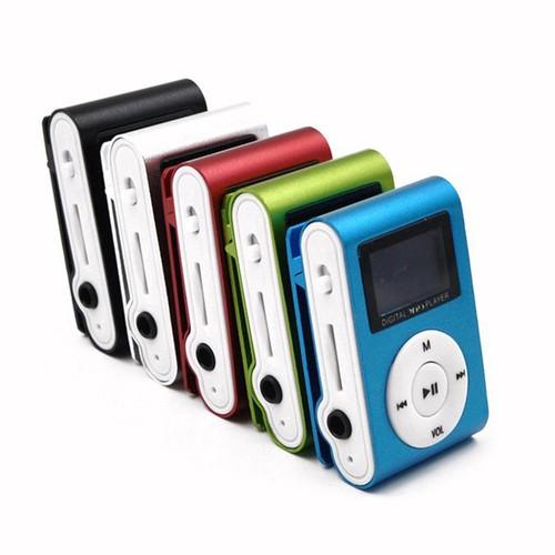 Máy nghe nhạc mp3 player có kẹp kim loại kèm khe cắm thẻ nhớ và dây cáp k hot - 20277776 , 22935325 , 15_22935325 , 70000 , May-nghe-nhac-mp3-player-co-kep-kim-loai-kem-khe-cam-the-nho-va-day-cap-k-hot-15_22935325 , sendo.vn , Máy nghe nhạc mp3 player có kẹp kim loại kèm khe cắm thẻ nhớ và dây cáp k hot
